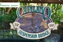 Day 12 Capilano Suspension bridge